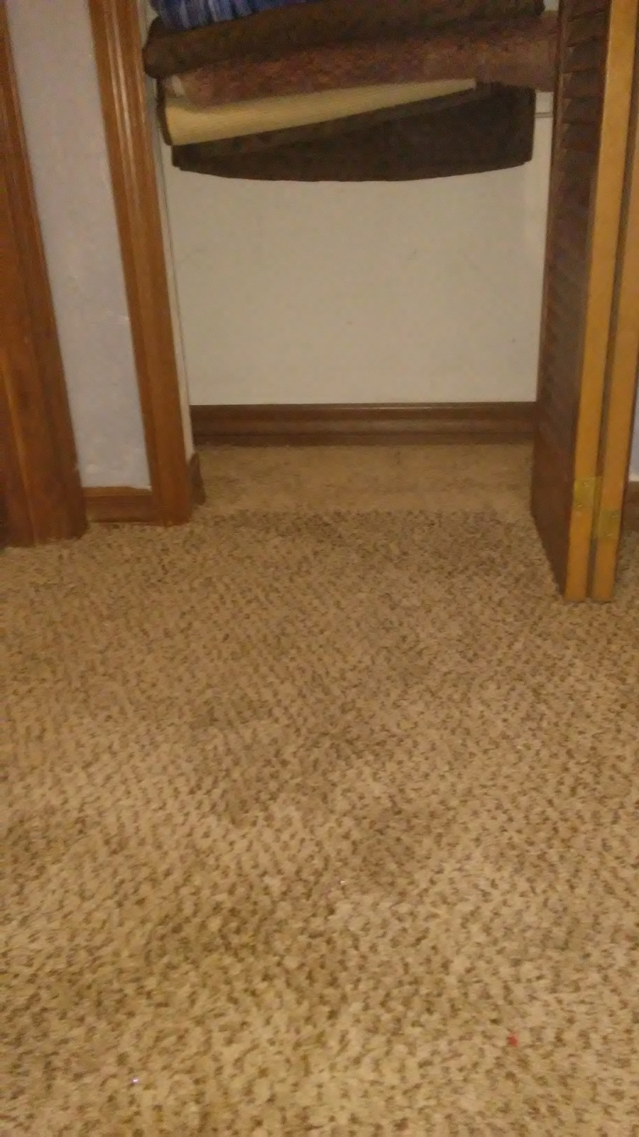Gainesvilles local carpet repair specialists typically it is not possible to match the existing carpet and thats why we use the carpet in a closet so that the carpet that doesnt match is hidden from solutioingenieria Choice Image
